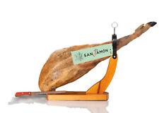 Prosciutto Crudo Spagnolo Iberico di Mangime (8,5 kg) +Set San Jamón Pata negra