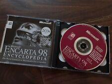 Microsoft Encarta 98 Encyclopedia (Windows CD-ROM)