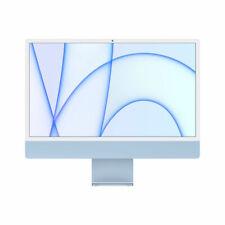 """Apple iMac 24"""" (256GB SSD, Apple M1, 3.20GHz, 8GB, 8-Core GPU) Blue - MGPK3X/A (April, 2021)"""
