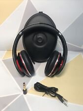 Monster Beats by DR DRE Studio Gen 1 Black Wired Headphone A1 Condition + Sound