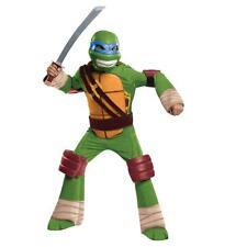 NEW Teenage Mutant Ninja Turtles LEONARDO Deluxe Child Halloween Costume L 10-12