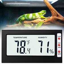Thermometer Wireless Digital Reptile Hygrometer Lizard Bearded Dragon Snake New