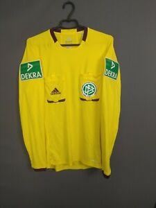 Germany Referee Jersey MEDIUM Shirt Soccer Football Adidas X19660 ig93