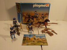 N PLAYMOBIL 3729 Western Civil War Pioneer Frontier with Box damaged horse
