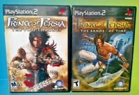 Prince of Persia Sands + Two Thrones - PS2 Playstation 2 Tested Game Racing Lot