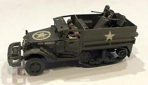 Vintage Built Bandai 1/48 U.S. Gun Motor Carriage M13 Military Model
