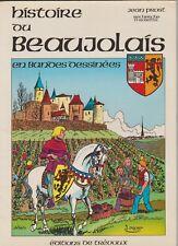 Histoire du Beaujolais en bandes dessinées