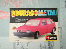 "PUBBLICITA' ORIGINALE ADVERTISING ""FIAT TIPO"" BBURAGO anni 80/90"