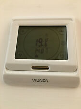 16A White Touchscreen Digital Programmable Thermostat for UFH or Radiators