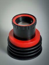 Red Squeezerlens Trioplan Tilt 1:2.8 80mm SLR Canon Nikon Pentax Vollformat Crop