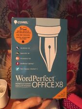 Corel WordPerfect Office X8 Home and Student License for 3 PCs Fun Gift