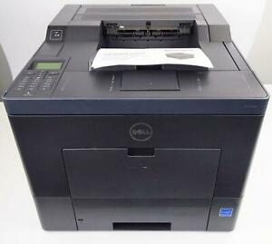 Dell C3760dn Color Laser Printer Simplex Duplex 3774 Page Count Tested Working