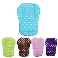 # Qzo Baby Kleinkinder Kinderwagen Sitz Kissen Baumwolle Matte Weiß Punkte