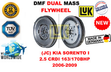 FOR (JC) KIA SORENTO I 2.5 CRDI 163/170BHP 2006-2009 NEW DUAL MASS DMF FLYWHEEL