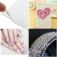 Hot 3mm Sheet Self Adhesive Diamantes Stick Rhinestone Gems Craft DIY Decor