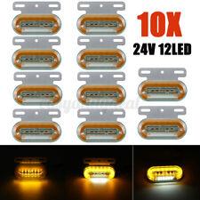 10x 12 LED Begrenzungsleuchte Seitenmarkierungsleuchte 24V Für LKW Anhänger PKW