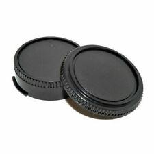 2pcs Body Cover Lens Rear Cap For CANON FD Camera Accessor Protect A5X2 Y2B3
