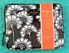 Florence Broadhurst for Kate Spad sleeve for iPad/tablet Black and White