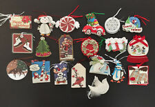 Pmg 3D Merry Christmas Santa Snowman Dove Other 20 Designs Gift Tags Lot 60 pc.