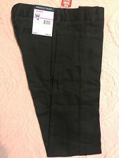 French Toast Skinny Cotton Boy's Khaki Black Pants Size 12 Style Sk9405F Nwt $28
