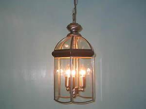 Hall Lantern 5133 Satin Nickel Lantern