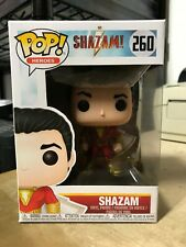 FUNKO POP SHAZAM! DC COMICS BILLY BATSON #260 AUTHENTIC BRAND NEW IN HAND