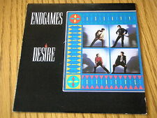 "ENDGAMES - DESIRE   7"" VINYL PS"