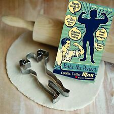 Talisman Designs Perfect Man Retro Cookie Cutter Biscuit Dough Funny Gift 4001