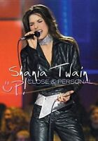 SHANIA TWAIN Up! Close & Personal DVD BRAND NEW PAL Region 2 & 4