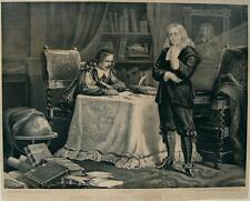 John MILTON PARADISO PARADISE LOST GLOBO scrittura MOLLA Cromwell Londra Lipschitz