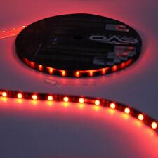 "5m Roll Super Red UltraBrights LED Flexible 12V Car Waterproof Light Strip 16.4"""