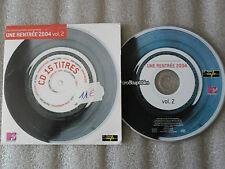 CD-LES INROCKUPTIBLES-UNE RENTREE 2004 VOL.2-REM/MANU CHAO-(CD MAXI)2004-15TRACK