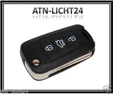 Hyundai Kia Rio 3 Tasten Gehäuse mit Bart Klappschlüssel Button Cover Key Neu