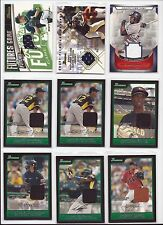 Baseball Autos All Gu Game-Used Jersey Lot 21 Ct Stars