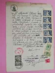 G18 erinnofilo Madone rifugio marini marca bollo 1956 carta bollata Palermo
