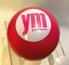 YM Your Magazine Advertising Promotion Magic 8-Ball pink