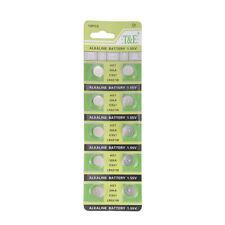 Retail Wholesale AG7 395A CX57 LR927 SR927W alkaline battery 10Pcs/lot