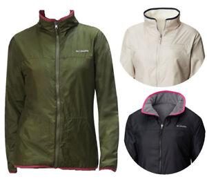 New Columbia Women Mountain Side Reversible Fleece Jacket