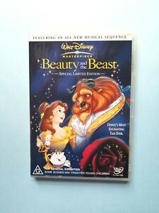 Beauty And The Beast - Special Limited Edition 🎬 DVD Region 4 PAL 🎬