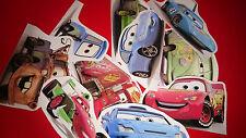 50 MINI DISNEY CARS VINYL STICKERS PARTY BAG FILLERS