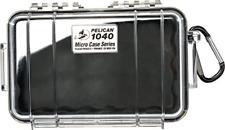 Pelican 1040 Micro Case Black/Clear, Model:1040-025-100