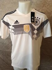Adidas GERMANY HOME SHIRT WITH THE BEATING HEART OF A CHAMPION Size Med