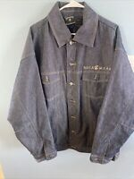 ROCA WEAR Denim Quilted Lining Jean Jacket Men's Size XL