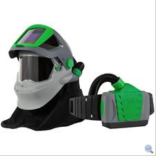 Z-Link+ Respirator Helmet w/PAPR Or SAR device, Flip-Up ADF Lens Visor NEW!
