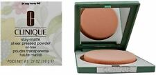 Clinique Stay-Matte Sheer Pressed Powder, Stay Honey .27 oz