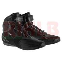 Scarpe Moto Impermeabili Alpinestars FASTER Waterproof Shoes con Protezioni