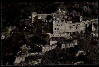St. Goar am Rhein Rheinland Pfalz s/w AK ~1950/60 Blick auf die Burg Rheinfels