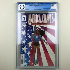 America Chavez, Made in the USA #1 (2021) CGC 9.8, 1st Santana Family