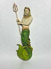 Harmony Kingdom art Neil Eyre Designs King mermaid merman Triton seashell gold