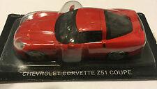 """DIE CAST """" CHEVROLET CORVETTE Z51 COUPE """" DREAMS CAR SCALE 1/43"""